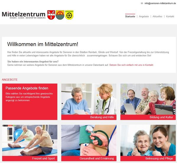 Informationsportal Senioren im Mittelzentrum